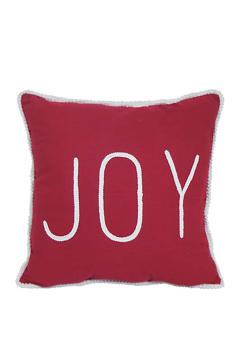 Arlee Home Fashions Inc.™ Joy Greeting Throw Pillow