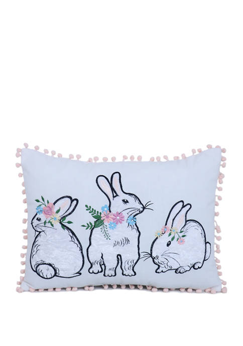 Arlee Home Fashions Inc.™ Flower Power Cottontail Throw