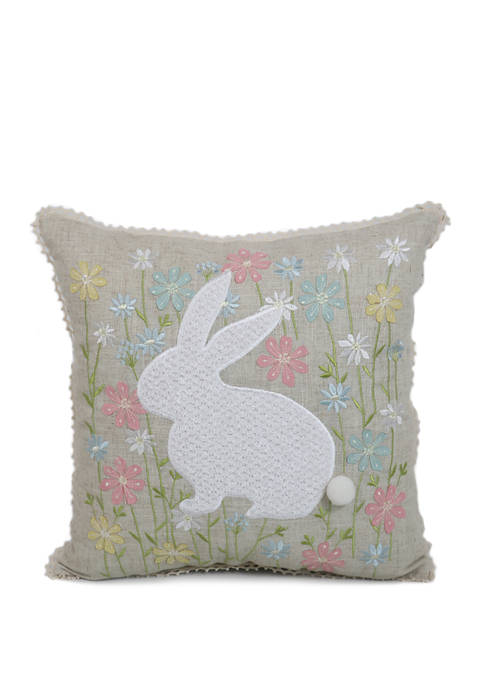 Arlee Home Fashions Inc.™ Bunny in Flower Field