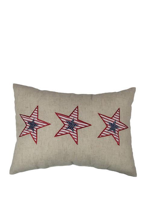 Arlee Home Fashions Inc.™ Star Appliqué Decorative Pillow