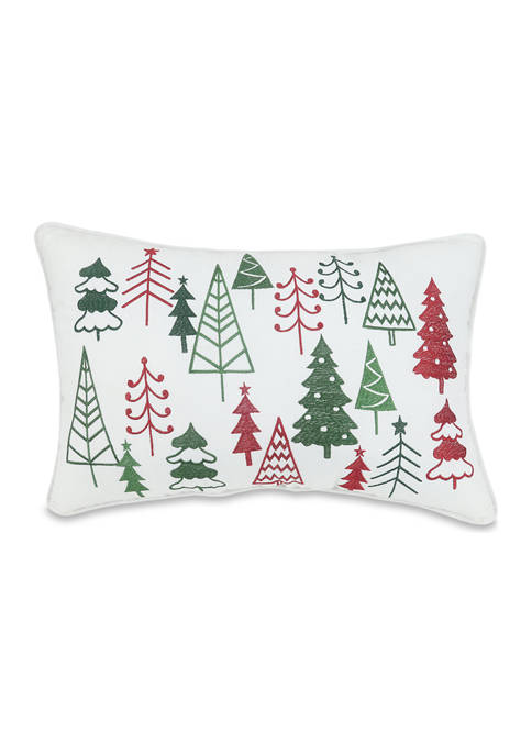 Arlee Home Fashions Inc.™ Happy Trees Throw Pillow