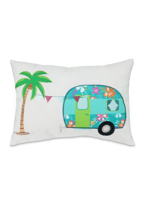 Coastal Camper Pillow