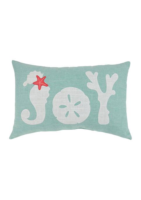 Arlee Home Fashions Inc.™ Joy Coastal Decorative Pillow