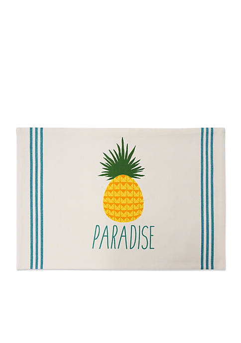 Arlee Home Fashions Inc.™ Paradise Pineapple Placemat