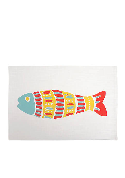 Arlee Home Fashions Inc.™ Mosaic Fish Placemat