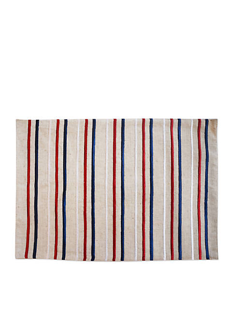 Arlee Home Fashions Inc.™ Flagship Stripe Placemat