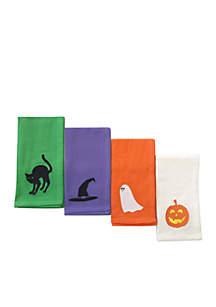 4-Pack Halloween Napkin