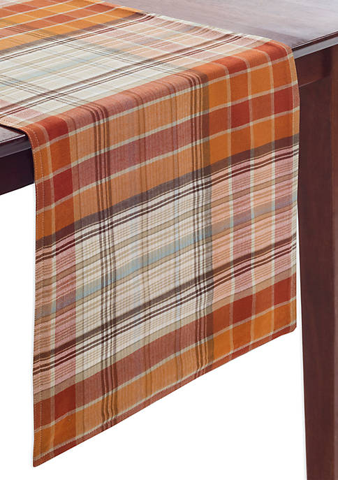 Arlee Home Fashions Inc.™ Hallmar Plaid Table Runner