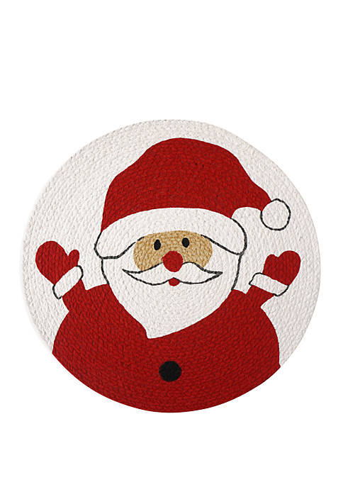 Santa Braided Placemat