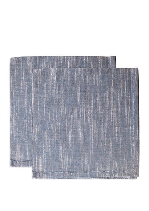 Arlee Home Fashions Inc.™ Natural Navy 2 Pack