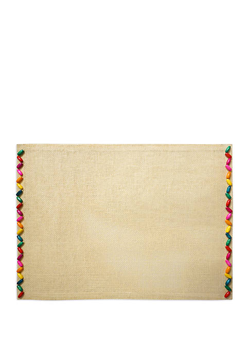 Arlee Home Fashions Inc.™ Bead It Placemat