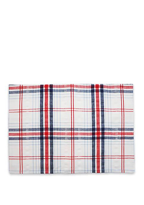 Arlee Home Fashions Inc.™ Seersucker Plaid Placemat
