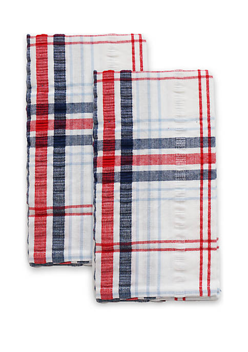 Arlee Home Fashions Inc.™ Seersucker Plaid 2 Piece