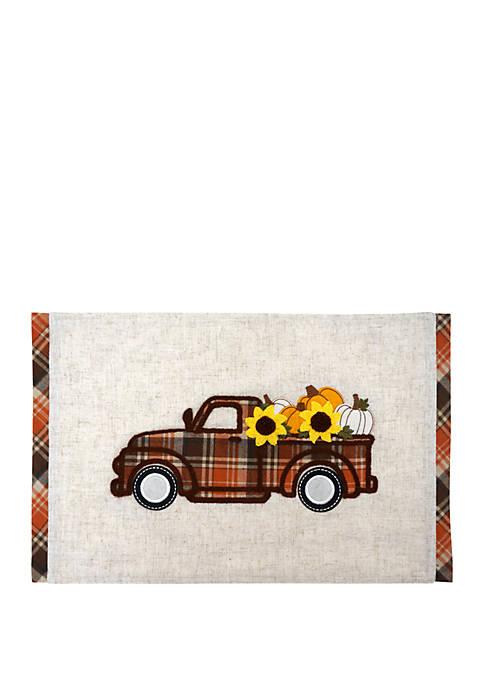 Arlee Home Fashions Inc.™ Pumpkin Ride Placemat