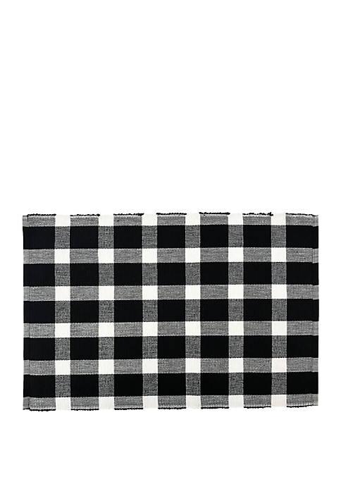 Arlee Home Fashions Inc.™ Buffalo Check Placemat