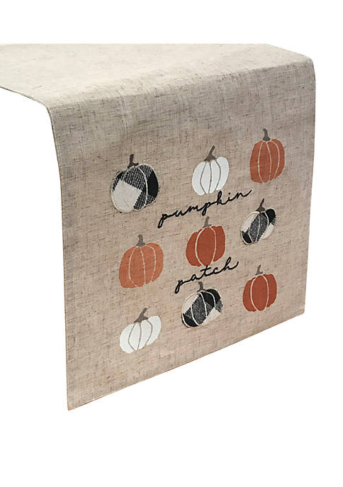 Arlee Home Fashions Inc.™ Pumpkin Script Runner