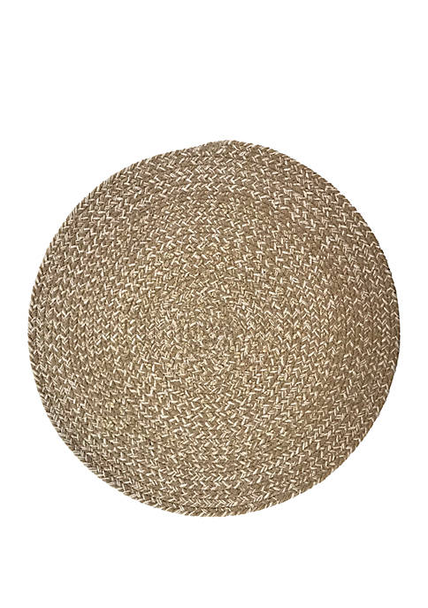 Arlee Home Fashions Inc.™ Cobblestone Round Placemat