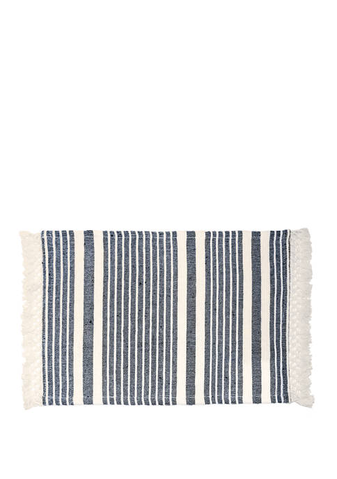 Arlee Home Fashions Inc.™ Markham Navy Placemat