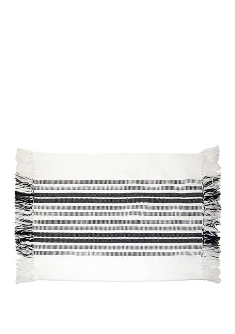 Morrison Woven Stripe Cotton Placemat