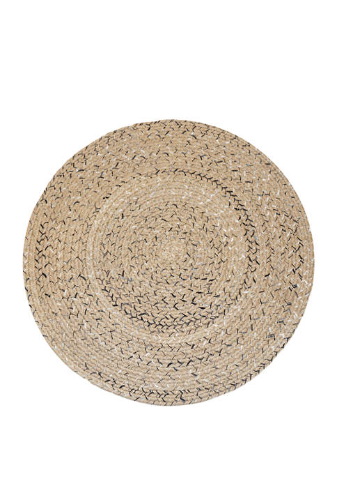 Arlee Home Fashions Inc.™ Calypso Round Braided Placemat