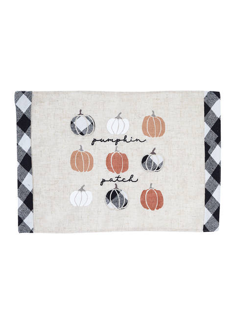 Arlee Home Fashions Inc.™ Pumpkin Patch Placemat