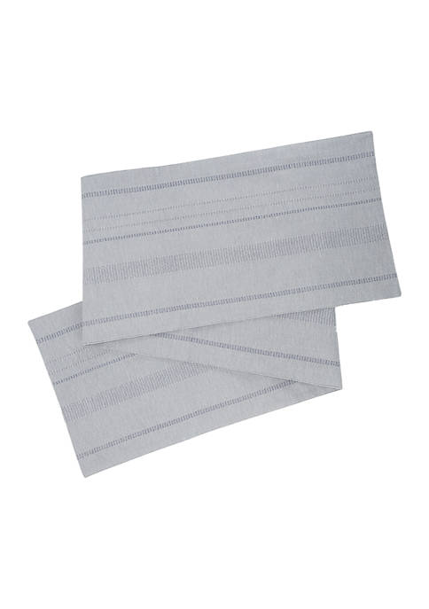 Arlee Home Fashions Inc.™ Puckered Stripe Table Runner