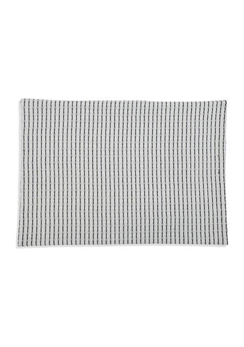 Arlee Home Fashions Inc.™ Black Stripe Placemat