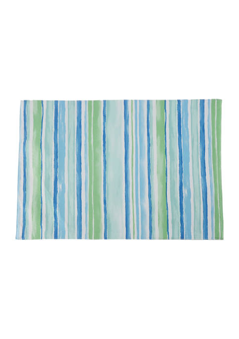 Arlee Home Fashions Inc.™ Multi Watercolor Stripe Placemat
