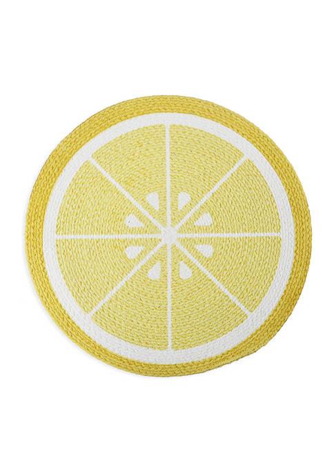 Arlee Home Fashions Inc.™ Lemon Slice Placemat