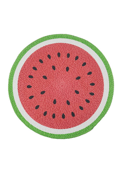 Watermelon Round Placemat