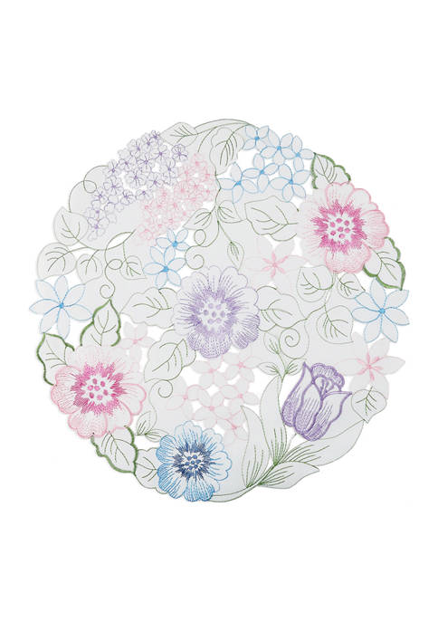 Arlee Home Fashions Inc.™ Summer Floral Cutwork Placemat