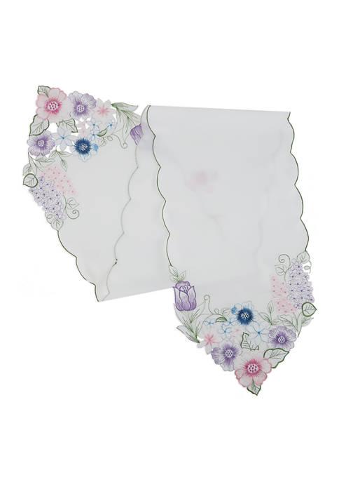 Arlee Home Fashions Inc.™ Summer Floral Runner