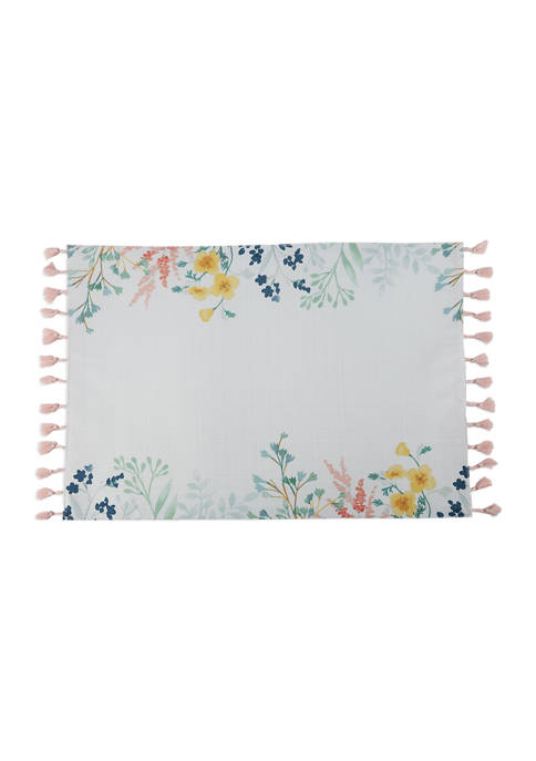 Arlee Home Fashions Inc.™ Feral Flower Placemat