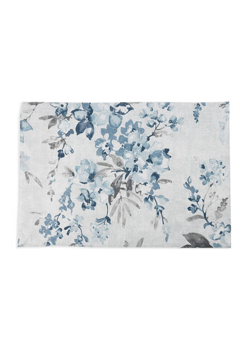 Blue Floral Placemat