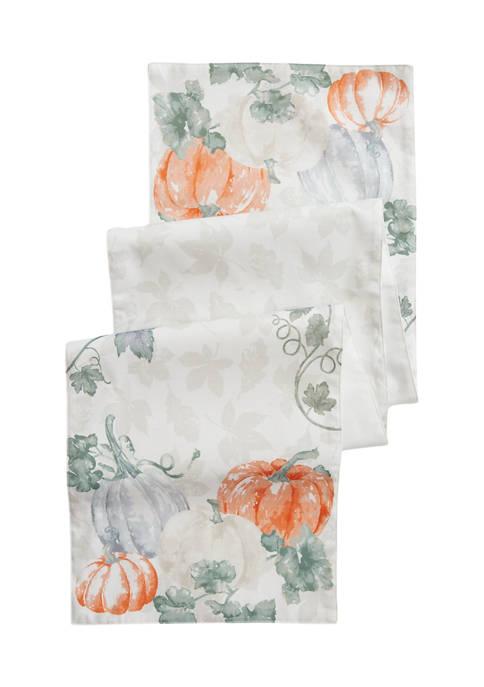 Arlee Home Fashions Inc.™ Harvest Pumpkin Garden Printed