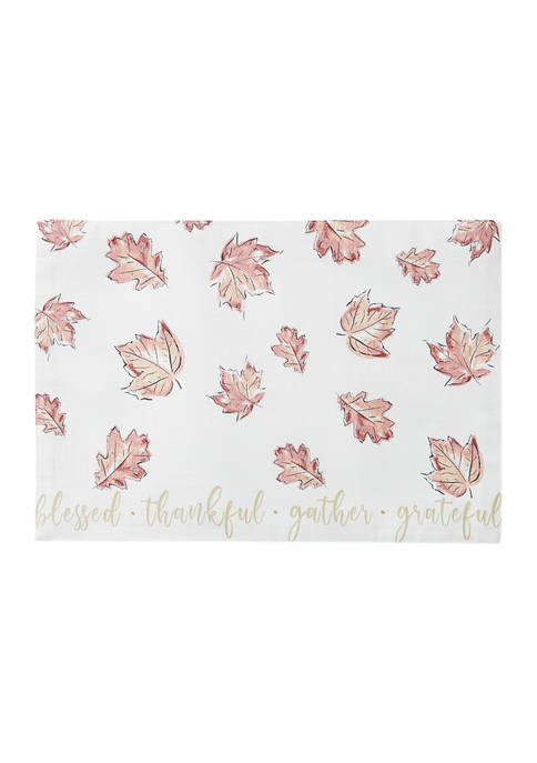 Arlee Home Fashions Inc.™ Fall Leaves Placemat