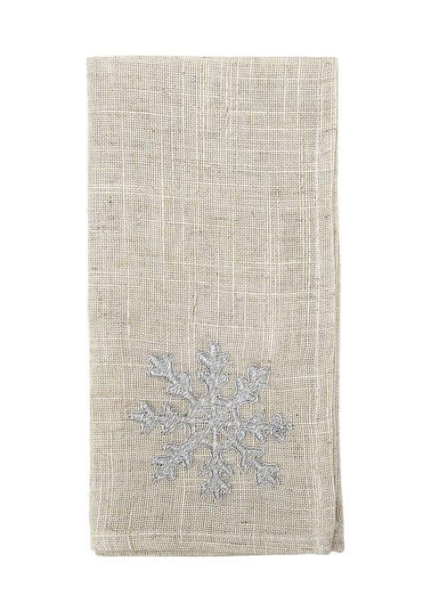 Arlee Home Fashions Inc.™ 2 Pack Snowflake Shimmer