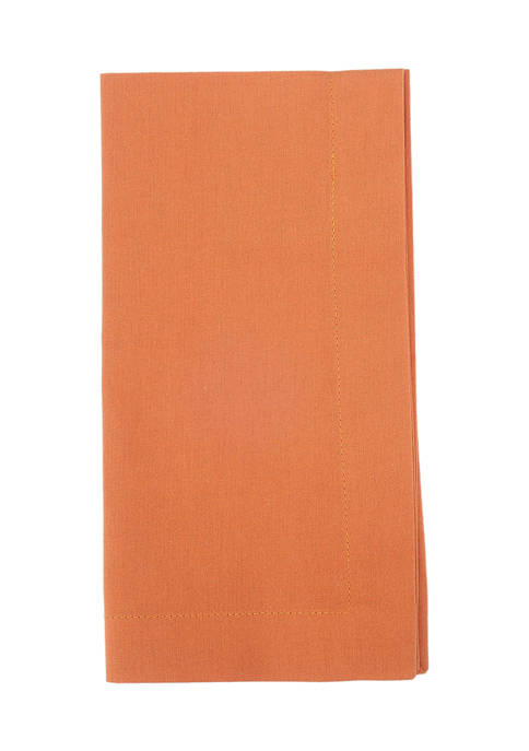Arlee Home Fashions Inc.™ 4 Pack Orange Cotton
