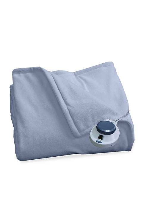 Perfect Fit Microfleece Electric Warming King Blanket 100-in.