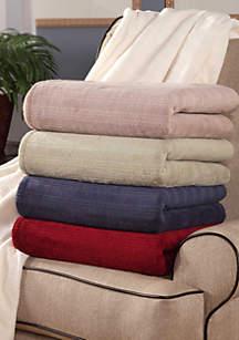 Triple Rib Heated Electric Blanket