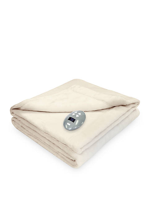Softheat® Velvet Plush Warming Blanket with Digital Controller