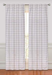 Rodeo Room Darkening Rod Pocket Window Curtain Panel Pair