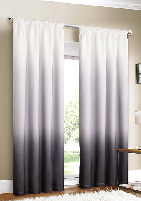 Dainty Home Shades Room Darkening Rod Pocket Window