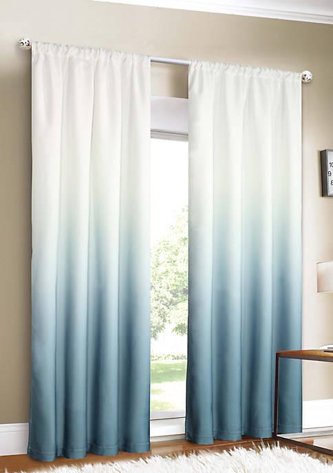 Dainty Home Shades Room Darkening Rod Pocket Window