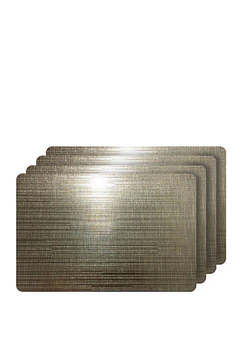 Dainty Home Emery Metallic Reversible Rectangular Set of