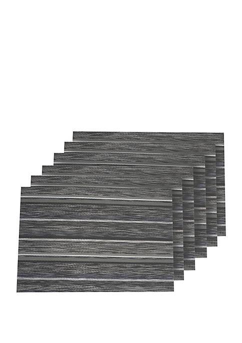 Dainty Home Multistripes Woven Textilene Reversible Rectangular
