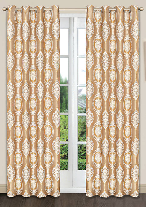 Dainty Home Monaco Grommet Window Panel Pair