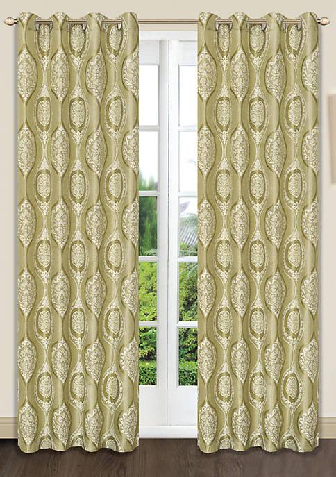 Dainty Home Monaco Grommet Window Panel Pair