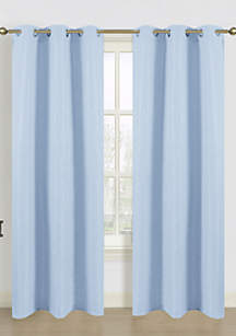 Blended Silk Window Panel Pair