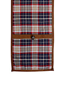 South Haven Blue Plaid Runner
